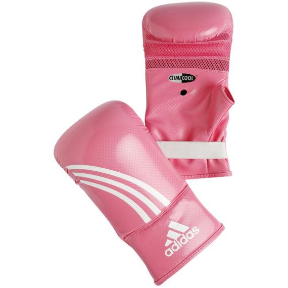 Adidas bokshandschoenen roze wit ADIBGS01
