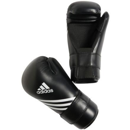 Adidas bokshandschoenen zwart Semi contact