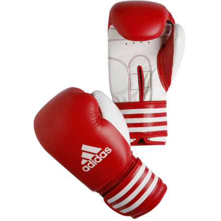 Adidas kickbokshandschoenen rood