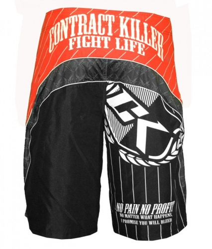 Contract Killer MMA short achterkant