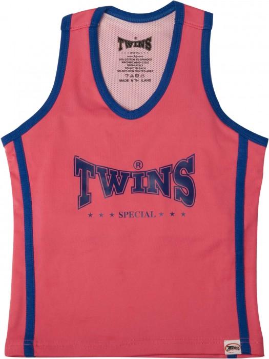 Twins Kickboks Topje (roze/blauw)