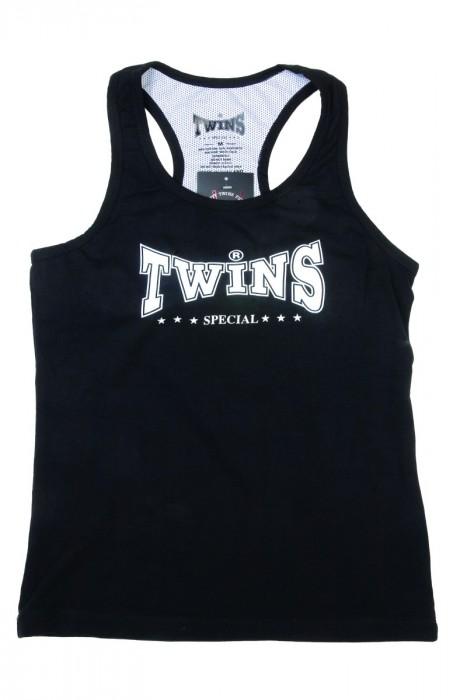 Twins Kickboks Topje (zwart)