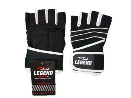 Legend Pro Fitness handschoenen met polsondersteuninng