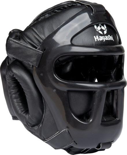 hayashi-headguard-kupfschutz-mit-gitter-black-243-left