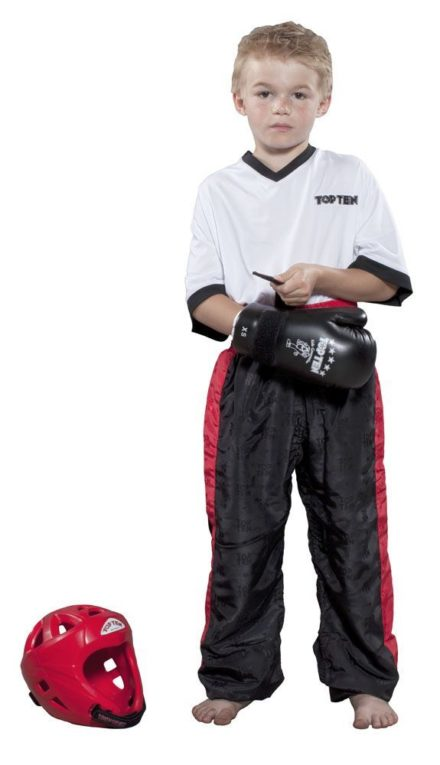 top-ten-kickboxing-pants-classic-for-kids-size-100-100-cm-black-red-1610-9100