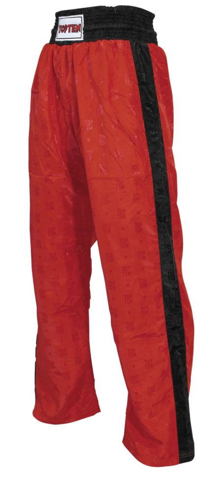 top-ten-kickboxing-pants-classic-for-kids-size-130-130-cm-red-black-1610-4130