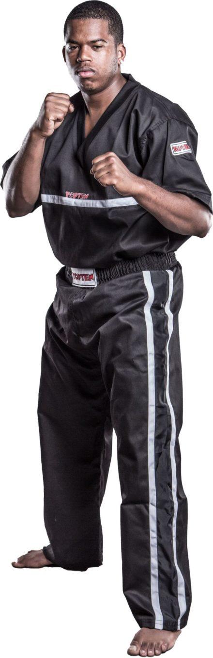 top-ten-kickboxing-pants-superfighter-collection-size-xl-190-cm-black-1615-9190